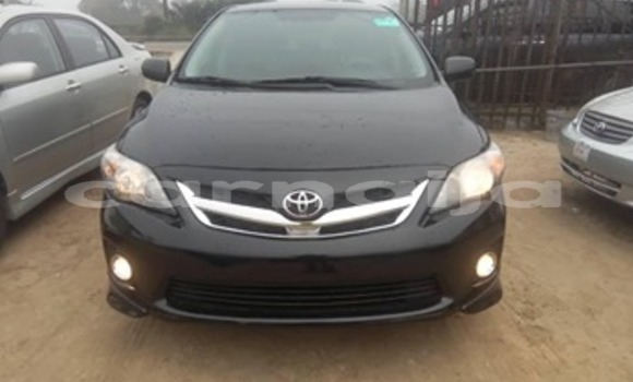 Buy Used Toyota Corolla Black Car in Abuja in Lagos State