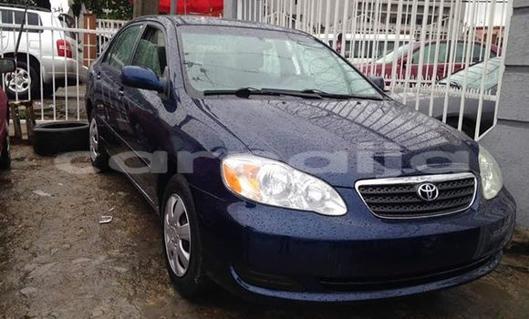 Buy Used Toyota Corolla Blue Car in Calabar in Cross River State