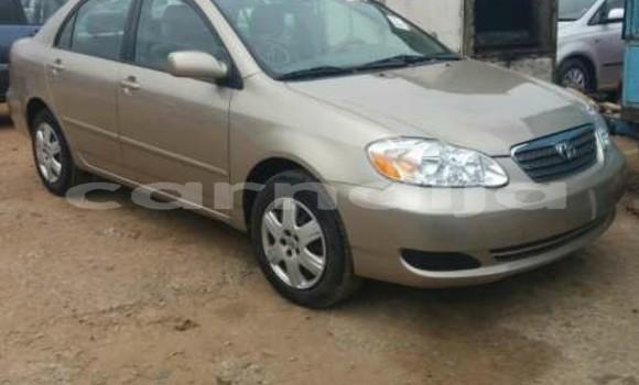 Buy Used Toyota Corolla Brown Car in Abuja in Lagos State