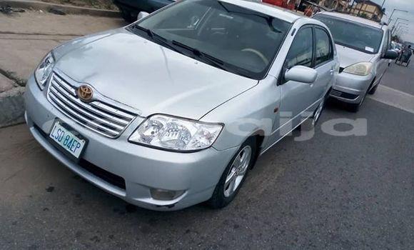Buy Used Toyota Corolla Silver Car in Lagos in Lagos State