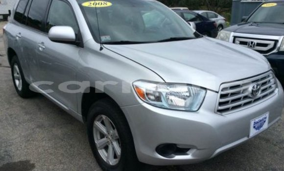 Buy Used Toyota Highlander Silver Car in Benin City in Edo