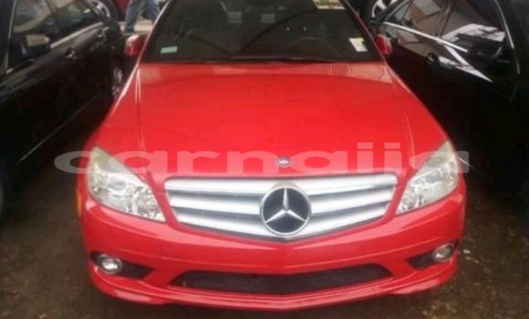Buy Used Mercedes‒Benz C–Class Red Car in Lagos in Lagos State