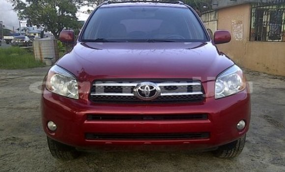 Buy Used Toyota RAV4 Red Car in Apapa in Lagos State