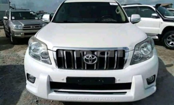 Buy Used Toyota Land Cruiser Prado White Car in Calabar in Cross River State