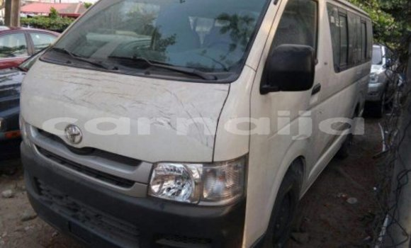 Buy Used Toyota Hiace White Car in Katsina in Katsina