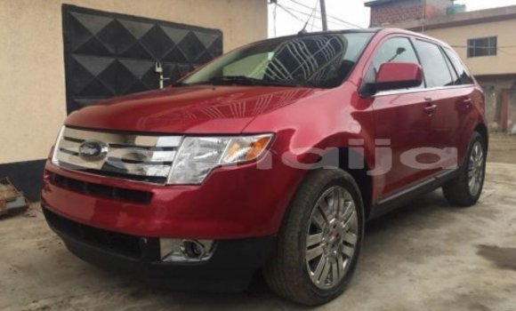 Buy Used Ford Edge Red Car in Lagos in Lagos State