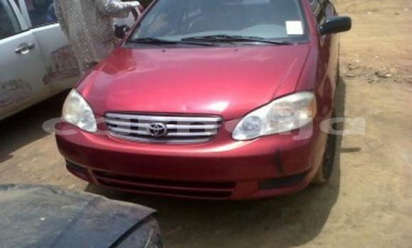 Buy New Toyota Corolla Red Car in Lagos in Lagos State