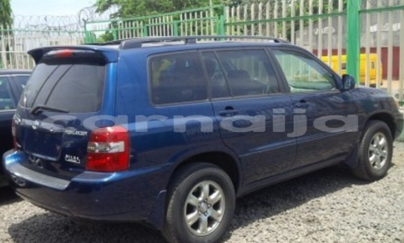 Buy Used Toyota Highlander Blue Car in Daura in Katsina