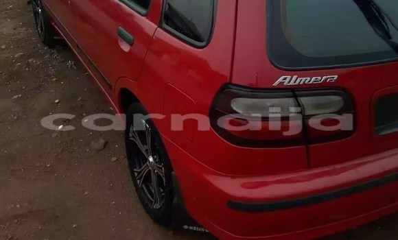 Buy Used Nissan Almera Red Car in Lagos in Lagos State