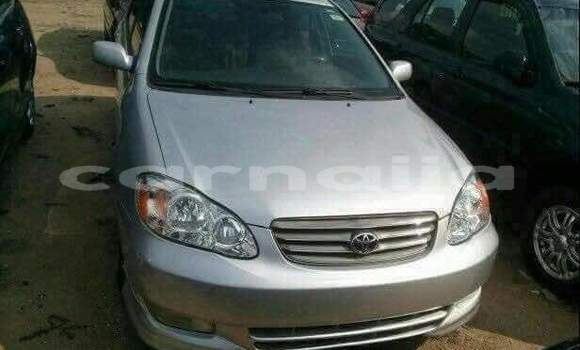 Buy Used Toyota Corolla Silver Car in Lagos in Lagos State