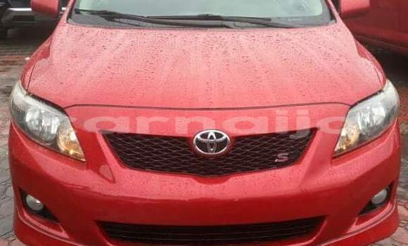 Buy Used Toyota Corolla Red Car in Afaha Ikot Ebak in Akwa Ibom State