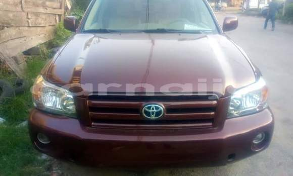 Buy Import Toyota Highlander Red Car in Adogo in Kogi State