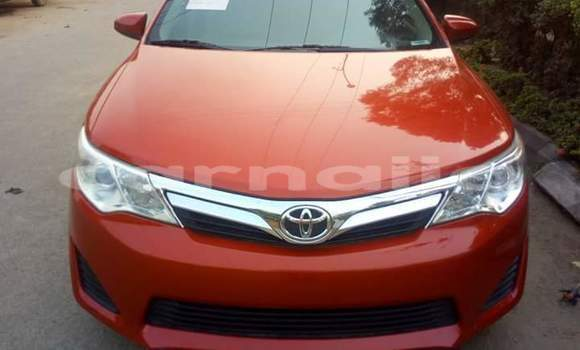 Buy Imported Toyota Camry Red Car in Afaha Offiong in Akwa Ibom State