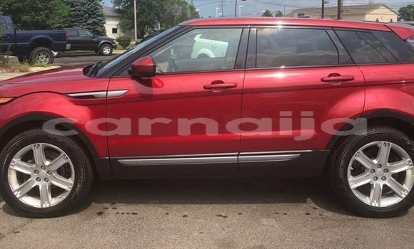 Buy Import Land Rover Range Rover Evoque Red Car in Lagos in Lagos State