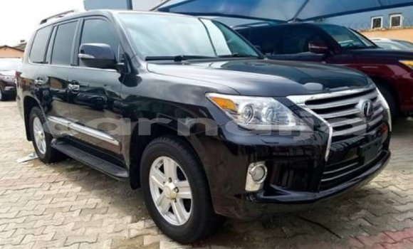 Buy Import Lexus LX 570 Black Car in Lagos in Lagos State
