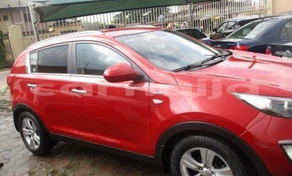 Buy Import Kia Sportage Red Car in Abuja in Lagos State