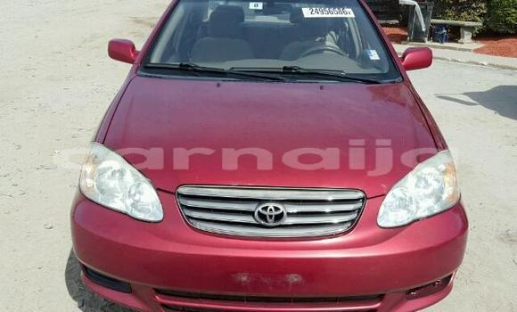 Buy Imported Toyota Camry Red Car in Apapa in Lagos State