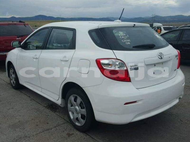 Buy Import Toyota Matrix White Car In Lagos In Lagos State Carnaija