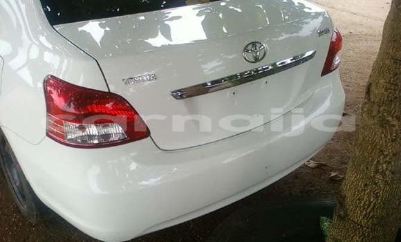 Buy Used Toyota Yaris White Car in Lagos in Lagos State