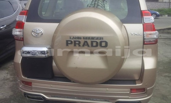 Buy Used Toyota Land Cruiser Prado Brown Car in Lagos in Lagos State