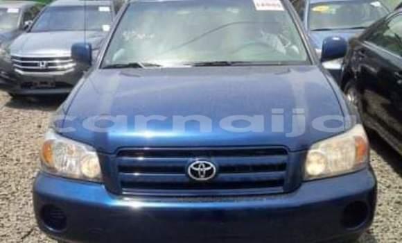 Buy Import Toyota Highlander Blue Car in Lagos in Lagos State