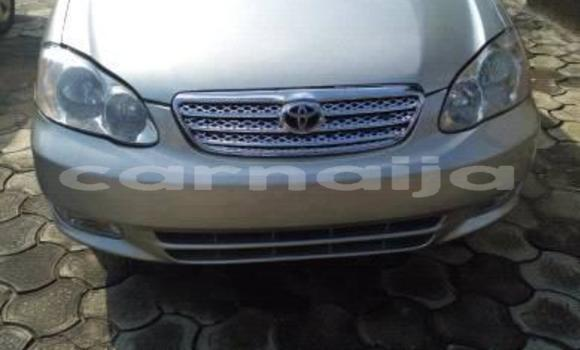 Buy Used Toyota Corolla Silver Car in Enugu in Enugu State