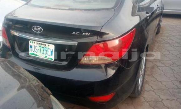 Buy Used Hyundai Accent Black Car in Ifako in Lagos State