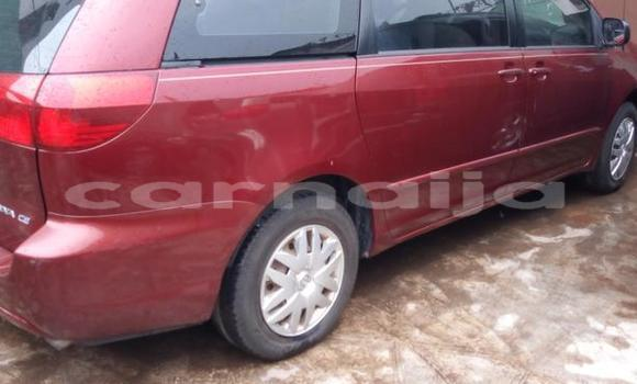 Buy Used Toyota Sienna Red Car in Ifako in Lagos State