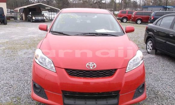 Buy Used Toyota Matrix Red Car in Lagos in Lagos State