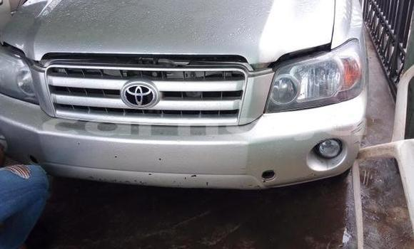 Buy Used Toyota Highlander Silver Car in Ifako in Lagos State