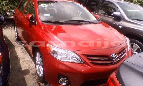 Buy Used Toyota Corolla Red Car in Lagos in Lagos State