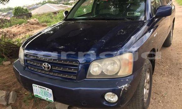 Buy Used Toyota Highlander Blue Car in Lagos in Lagos State