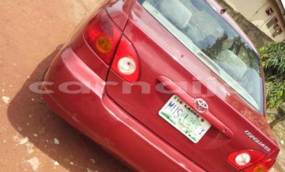 Buy Used Toyota Corolla Red Car in Ifako in Lagos State