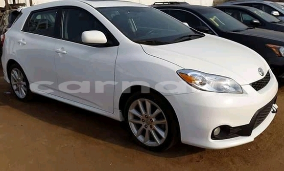 Buy Import Toyota Matrix White Car in Abuja in Lagos State