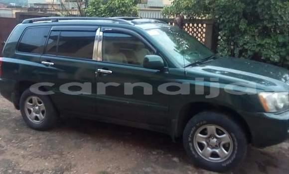 Buy Used Toyota Highlander Green Car in Ibadan in Oyo State